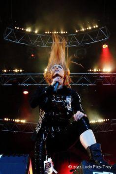Angela Gossow--the best female vocalist in metal hands down!