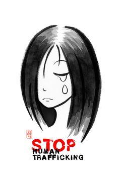 stop human trafficking. www.redthreadmovement.org