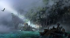 ArtStation - Uncharted, ling xiang