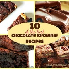 10 of the Best Chocolate Brownie Recipes