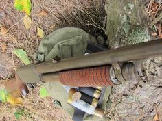 Red Crow Gear: Ithaca Model 37 Featherlight D. Ithaca 37, Red Crow, Bug Out Bag, Cool Guns, Weapons Guns, Shotgun, Firearms, Edc, Police