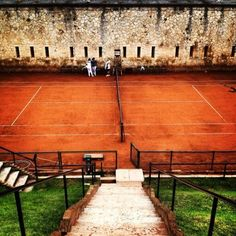 Beautiful clay court in Verona