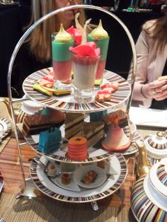 Afternoon tea at the Berkeley hotel