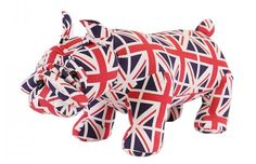 British Bulldog Foot Stool Made from heavy duty faux leather this british bulldog footstool is not only practical but quirky and fun making a