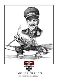 Hans-Ulrich Rudel Junkers Ju-87 Stuka ~ BFD