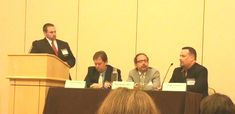 Max Hunter Story, PA speaking at the Florida Bar Convention in Orlando on consumer rights issues.