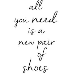 A new pair of shoes ❥