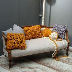 interior decorating with orange and black colors
