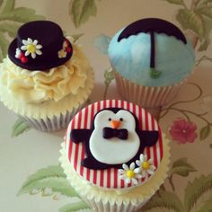 Mary Poppins Cupcakes  http://cakesdecor.com/cakes/24261