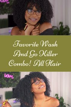 Kimberly's Favorite Wash And Go Killer Combo! All Hair Types Wash And Go, Hair Videos, Beauty Trends, Hair Type, Black Hair, Natural Hair Styles, Hair Black Hair, Black Hairstyles, Black Scene Hair