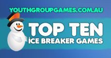 Top ten icebreaker games, ice breaker games, youth group icebreakers, icebreaker games for small groups Games, ideas, icebreakers, activities for youth groups, youth ministry and churches.