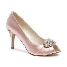 Pink by Paradox London Tender peep toe with trim-   Debenhams