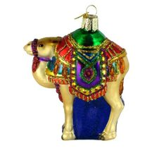Old World Christmas Magi's Camel Glass Blown Ornament *** Visit the image link more details.