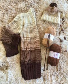 Knitting Stitches, Knitting Designs, Cardigans For Women, Lana, Knit Crochet, Winter Hats, Reusable Tote Bags, Tattoos, Womens Fashion