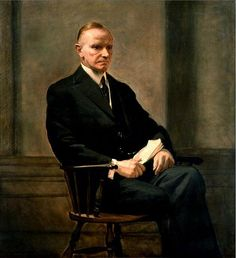 "#30Calvin Coolidge,Jr.(July 4,1872 – January 5,1933)from Plymouth, Vermont,was the 30th President of the United States serving from 1923 to 1929.Coolidge became president upon the death of Warren G. Harding. Coolidge's inauguration was the first to be broadcast on radio.On February 22,1924,he became the first President of the United States to deliver a political speech on radio.Known as ""silent Cal"" for being a man of few words in private while known for being an excellent orator at the…"