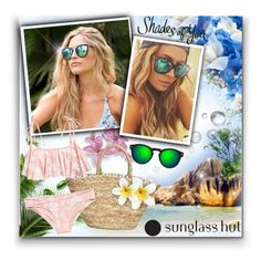 """""""Shades of You: Sunglass Hut Contest Entry"""" by matildiwinky ❤ liked on Polyvore featuring Quay, H&M, Illesteva and shadesofyou"""