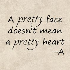 Decal Sticker Graphics PLL A Pretty Face Doesn't by TheHenCompany