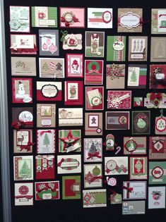 Stampin Up Convention photos by Dawn Griffiths Christmas Cards To Make, Xmas Cards, Holiday Cards, Christmas Crafts, Christmas Ideas, Scrapbooking, Scrapbook Cards, Winter Cards, Cool Cards