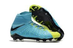 hot sale online 886b8 132ef Cheap Nike Hypervenom Phantom III DF FG Sock Soccer Cleats -  Green Black Yellow