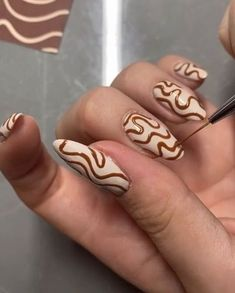 Aycrlic Nails, Swag Nails, Edgy Nails, Grunge Nails, Nails Ideias, Milky Nails, Nagellack Design, Colorful Nail, Fire Nails