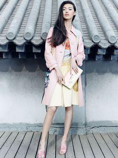 Tian Yi by Zack Zhang for Vogue China April 2014