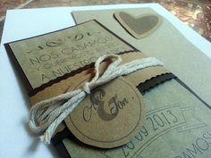 www.creativae.es #invitacion #boda #wedding #invitation