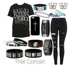 """their concert"" by hailey-clifford on Polyvore featuring Topshop, Casetify, women's clothing, women, female, woman, misses and juniors"
