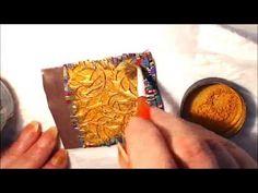 Polymer clay tutorial - Bargello technique +bonus - redone for quality - YouTube