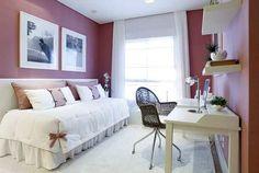 Decoração Quarto Solteiro Feminino Pequeno + 50 Idéias com Fotos para decorar seu quarto de Solteiro Feminino seja ele Planejado, Retrô, Moderno ou Simples.