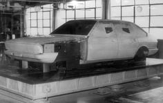 OG | Chrysler Alpine / Talbot 1307-1308 - Project C6 | Full-size clay model in progress © Olivier Guin