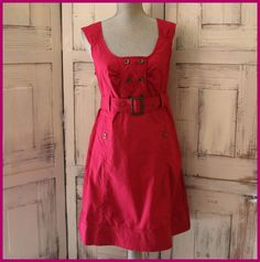 Anthropologie Dress Size 8 By Maeve Cherry Color Shift Wear To Work