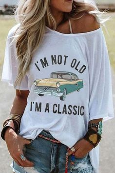 Shirts & Tops, Casual T Shirts, Casual Tops, Trendy T Shirts, Loose Shirts, Half Sleeves, Types Of Sleeves, Summer Tops, Spring Summer