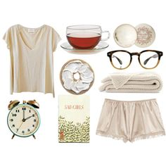 A fashion look from April 2013 featuring v neck shirts, underwear lingerie and black glasses. Browse and shop related looks.