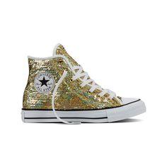 Women's Converse Chuck Taylor All Star High Holiday Party -... ($60)