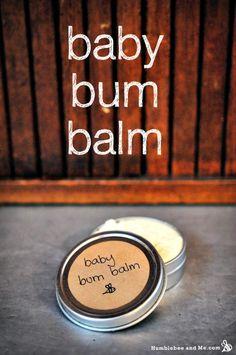 How to Make Homemade Baby Bum Balm | Herbs and Oils Hub