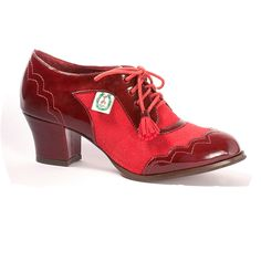 'L' by L Fire Matilda Ruby Red Shoes