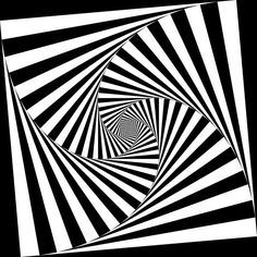 Optical art, optical illusion.