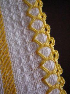Watch This Video Beauteous Finished Make Crochet Look Like Knitting (the Waistcoat Stitch) Ideas. Amazing Make Crochet Look Like Knitting (the Waistcoat Stitch) Ideas. Crochet Motifs, Crochet Borders, Crochet Trim, Love Crochet, Easy Crochet, Crochet Yarn, Crochet Stitches, Embroidery Stitches, Embroidery Patterns