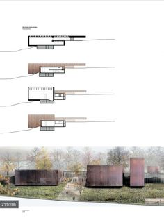 Building drawing seagram building and van on pinterest for Seagram building ppt