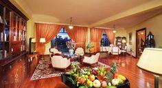 Saigon Morin - Salon de la chambre Executive Suite