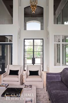 Customize your home with contemporary exterior doors and windows. Our charming yet modern custom made iron front doors and windows transform the design of any home. Check out our gorgeous work on this elegant home for inspiration and ideas. Contemporary Exterior Doors, Glass Panel Door, Glass Front Door, Home, Front Doors With Windows, Elegant Homes, Aluminium Patio Doors, Iron Front Door, Exterior Doors