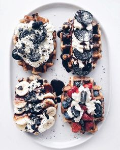 WEBSTA @ lichipan - Paid Belgium a visit two years ago and I miss the waffle variety so much!
