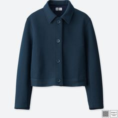 WOMEN Uniqlo U Double Face Long Sleeve Jacket - JACKETS & COATS - OUTERWEAR - WOMEN  | UNIQLO