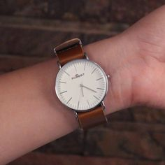 Redeem this Stunning Addic Forest Brown Watch For Women for FREE only on LooksGud.in #LooksGudReward #Watch