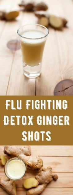 You don't need a juicer for these ginger shots! Perfect for cold and flu season, these boost your immune system the natural way. Perfect for a daily detox. via @diy_candy