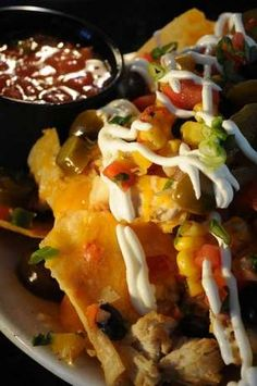 Mmmm destinations for nachos in Indy: This is an order of Macho Nachos. Rob Goebel/The Star.