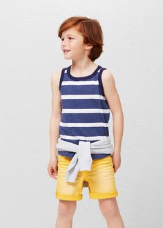 Katoenen hemd | MANGO KIDS