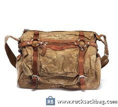$89.99 Canvas Shoulder Bag Men Canvas Cross Body Bag