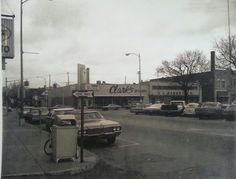 Looking north from the corner of Lebanon &  Main Street. (1972)