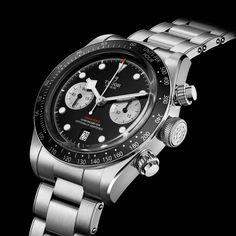 Tudor Black Bay, David Beckham, Lady Gaga, Die Tudors, Father Time, Famous Black, Bronze, Sport Watches, Chronograph
